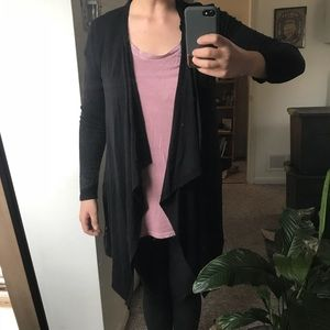 Sweaters - Simple Black Cardigan